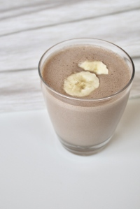 Chocolate PB Banana Smoothie